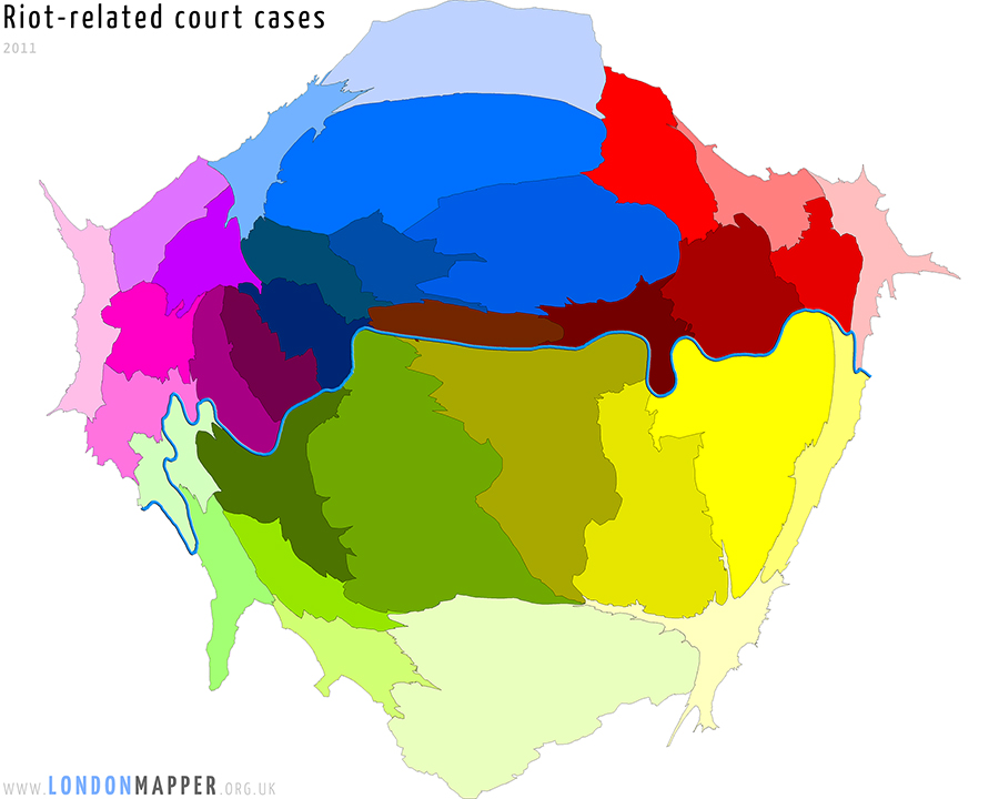 Court cases related to the August 2011 riots in London
