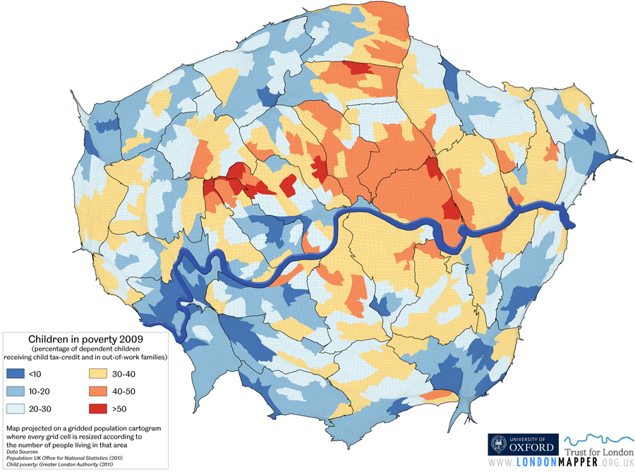 Inequalities In London Londonmapper
